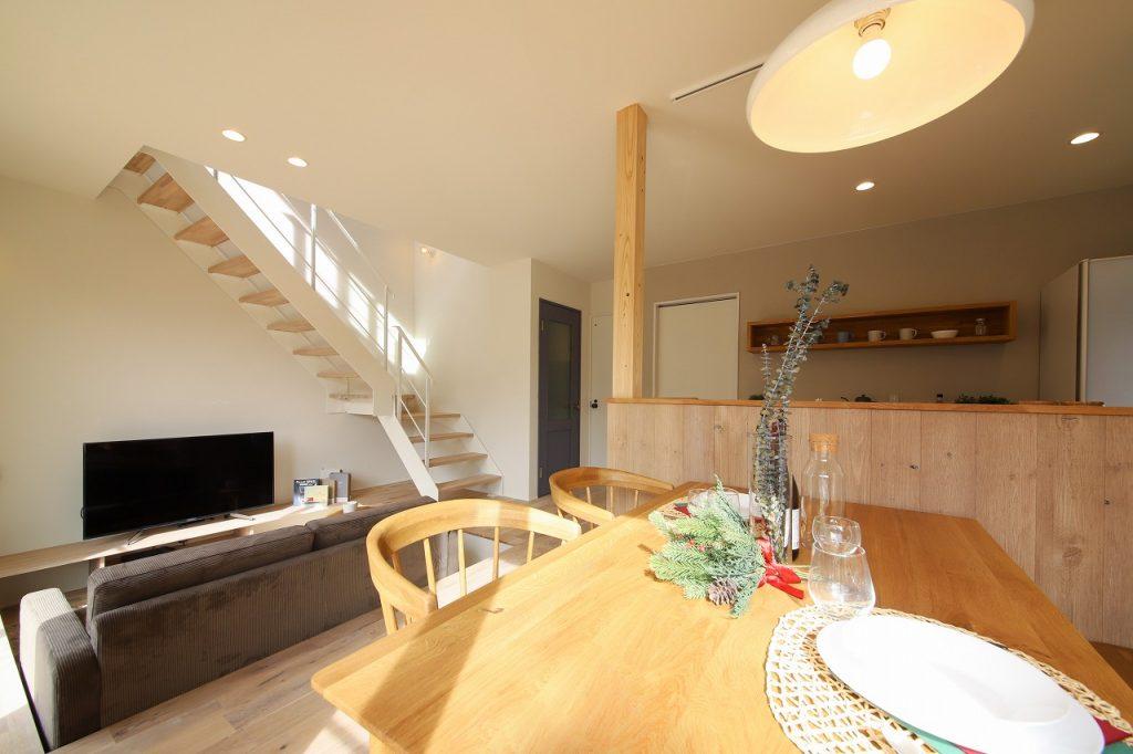 ミニマルな北欧スタイルな家